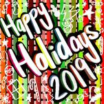 Happy Holiday's Rainbow... by Lavender Brown