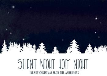 Silent Snowy Night