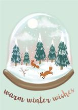 Winter Woodland Snowglo... by Charla Pettingill