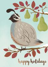 Partridge and Pears by Charla Pettingill
