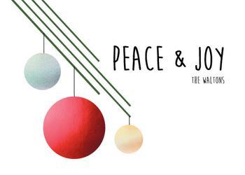Peace & Joy 2019