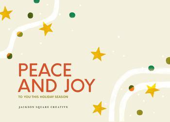 Peace and Joy Holiday