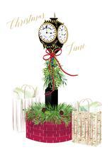 Christmas Clock by Nancy Jeanne Morlino