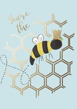 QUEEN BEE by Chelsea And Marbles Paper