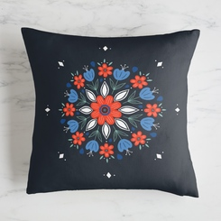Floral Pillow Pattern