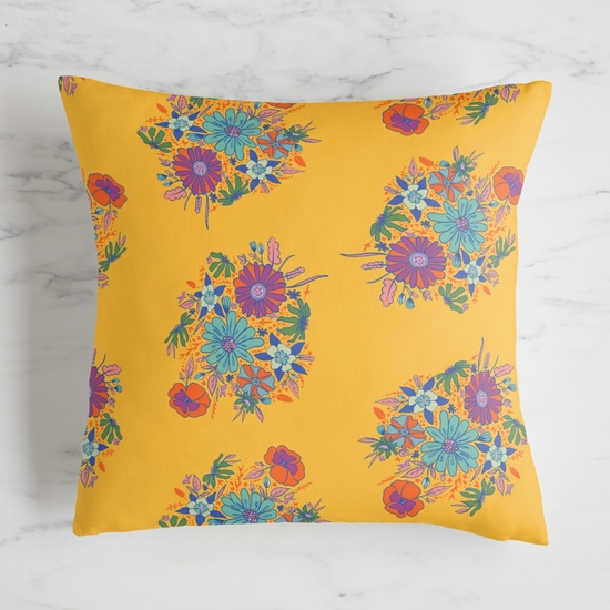 fabric - Bright Bouquet by chimesdesign
