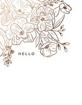 Bronzed Blooms by Barney Design