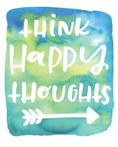 think.happy.thoughts by dear john designs