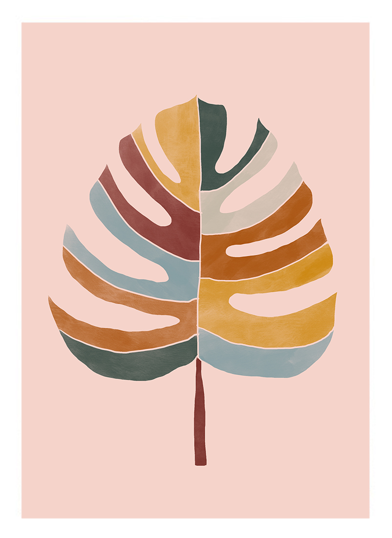 art prints - Chic Monstera by lulu and isabelle