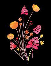 Wildflower Bunch by Amy Solaro