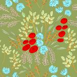 Floral Pattern by Harmony Cornwell