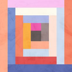 Modern Quilt Geometric #1