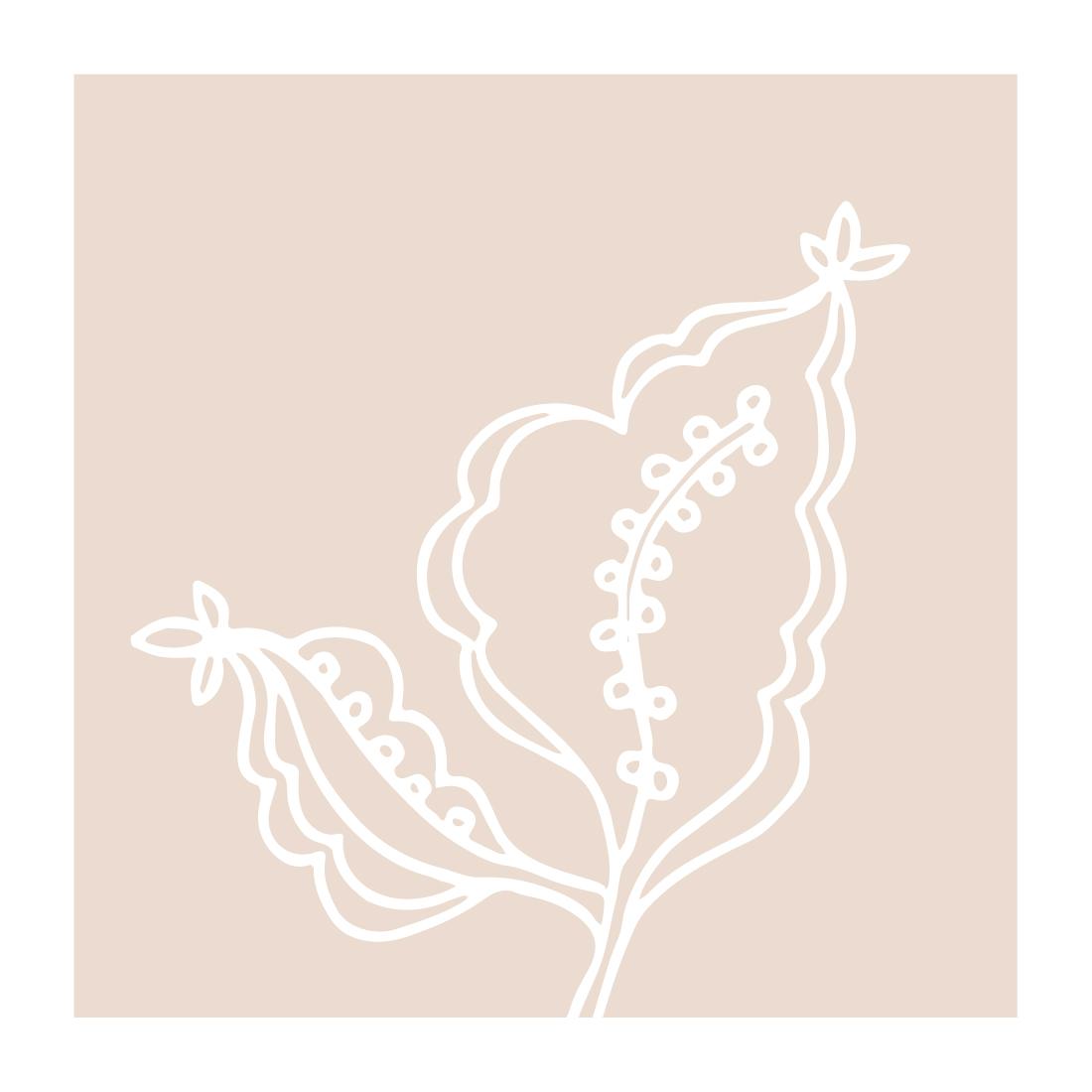 art prints - Simple Garden X by Tanya Lee Design