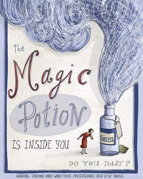 The Magic Potion Is Inside You