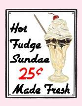 Retro Hot Fudge Sundae by Lavender Brown