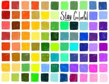 Stay Colorful Rainbow B... by Lavender Brown
