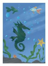 Seahorse and me by Tairasol