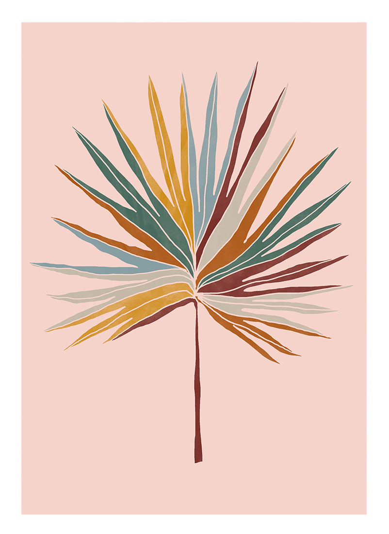 art prints - Chic Palm by lulu and isabelle