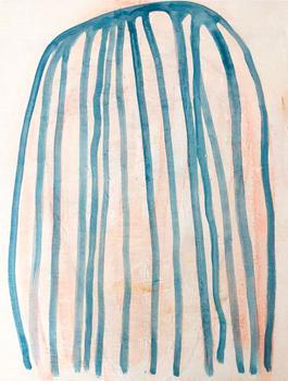 marine blue jellyfish