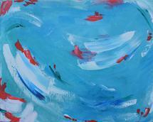 Pool Day 1 by Kelly Nicole Aiken