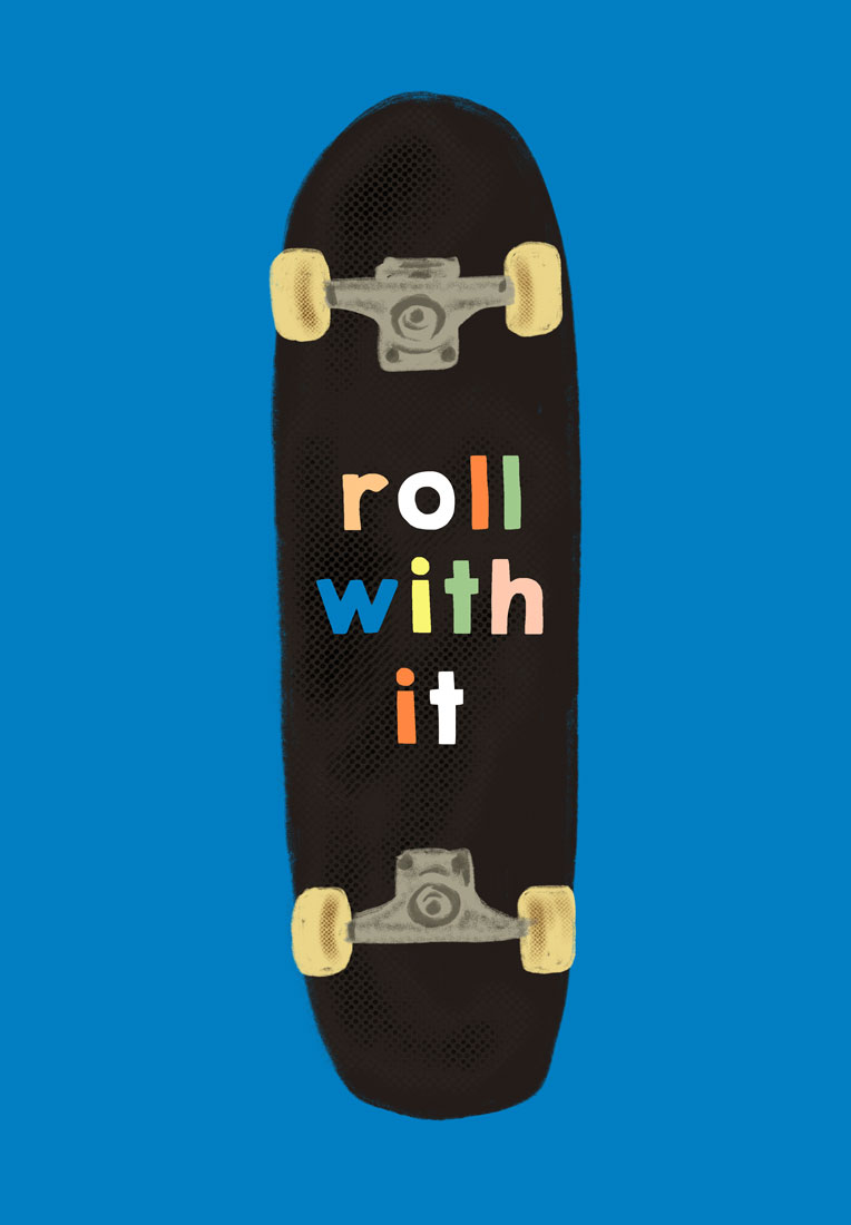 art prints - roll with it by Baumbirdy
