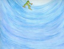 Big Ocean, Little Frog by Marie Barletta