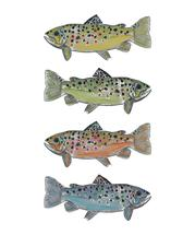 Colorful Trout by Kelly Nicole Aiken