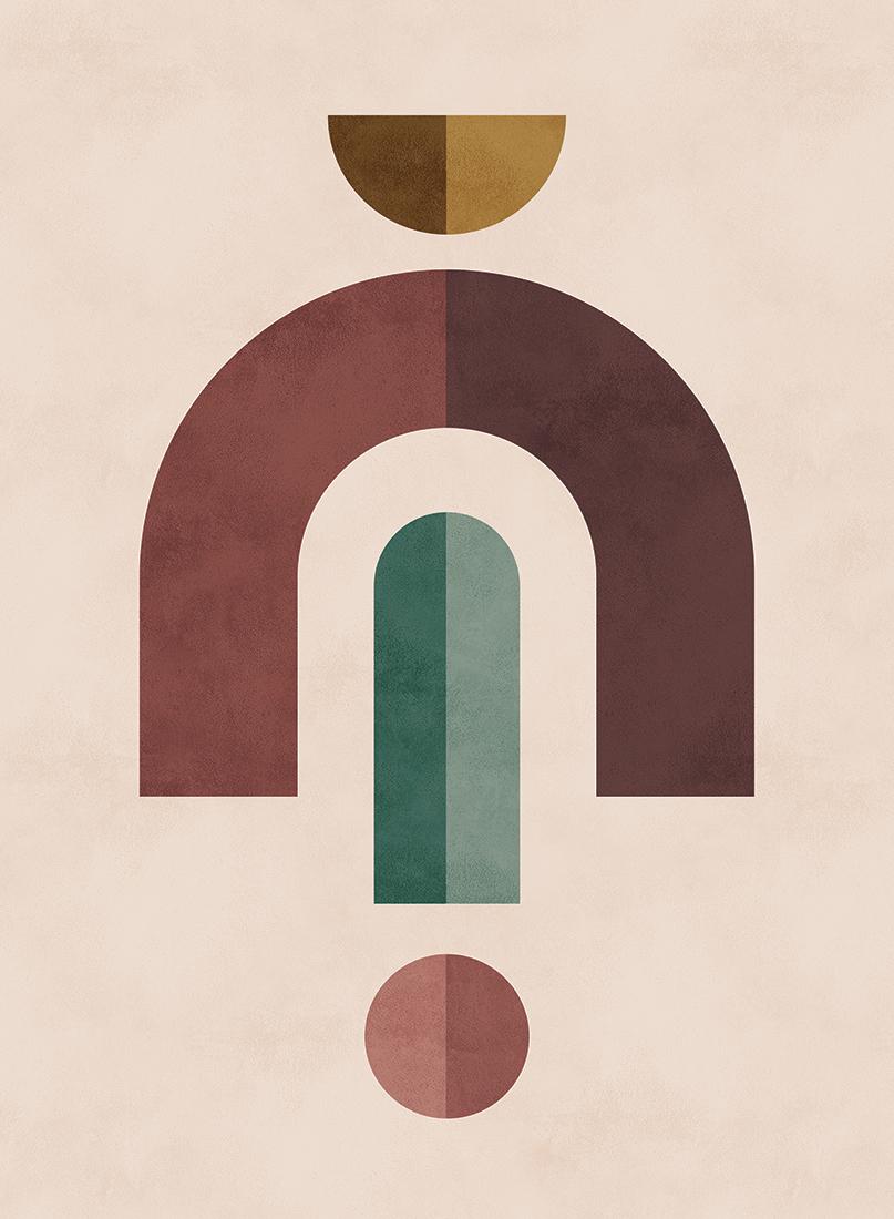 art prints - Geometric 2 by Kelly Schmidt