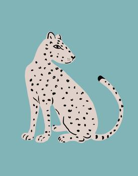 Teal Cheetah