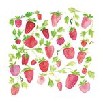 strawberries and caterp... by dear john designs