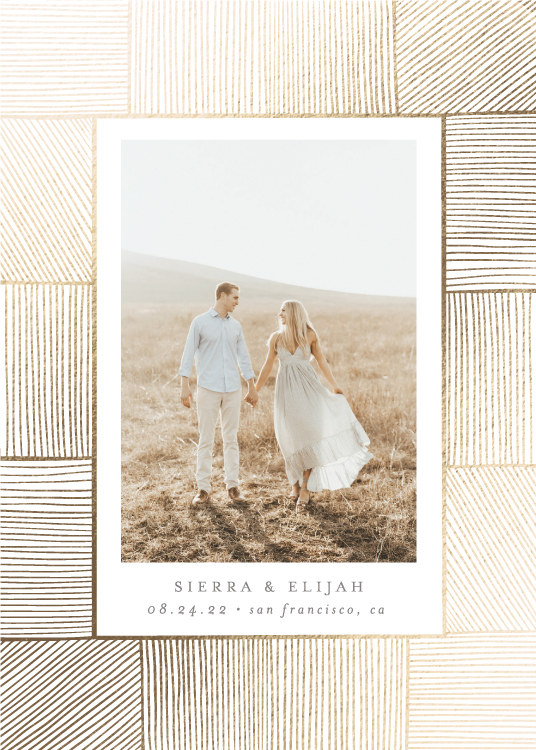 save the date cards - Ethereal Romance by Ana Sharpe