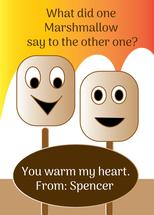 Marshmallow Valentines by Kristen Niedzielski