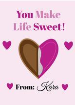 A Sweet Valentines by Kristen Niedzielski