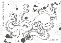 You Octopi my Heart by Kayla Penner