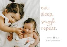 Eat.Sleep.Snuggle.Repea... by Paper Locket
