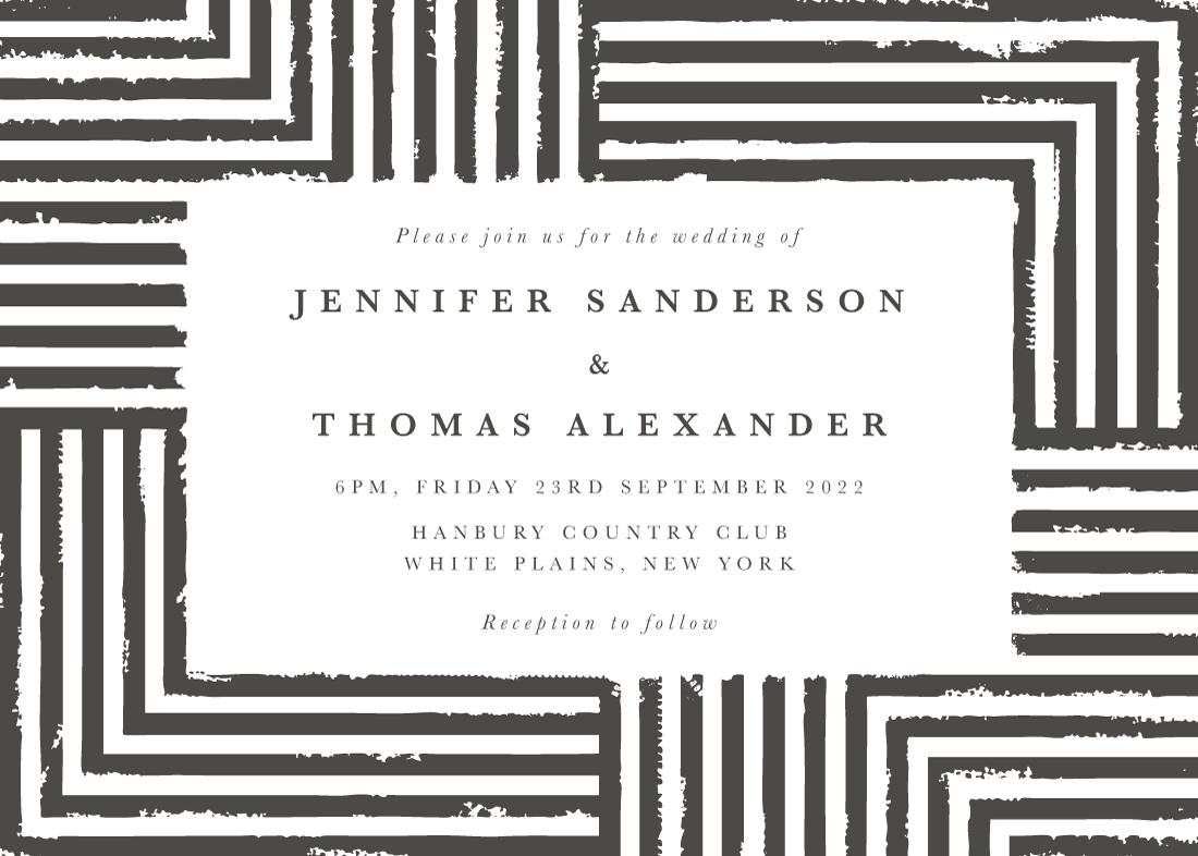 letterpress wedding invitations - Elegantly Wasted by itsjensworld