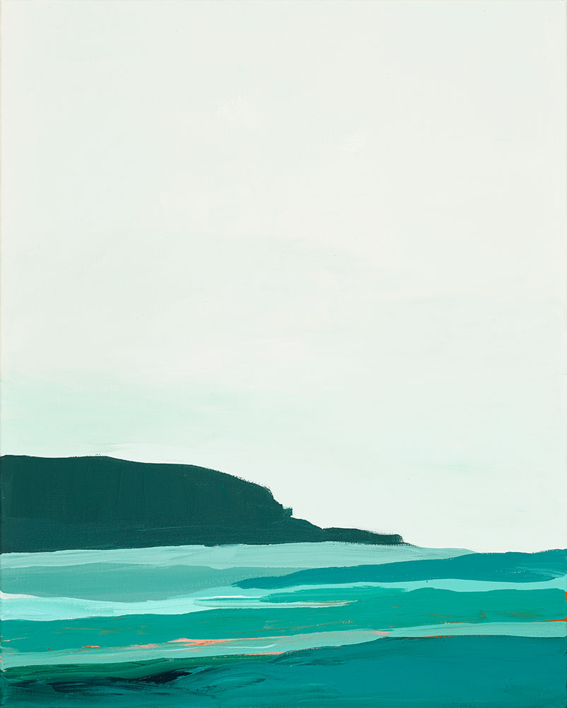 art prints - Abstract Pacific Seascape Diptych 2 by Caryn Owen