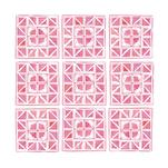 Pink Tiles by Paper Locket
