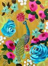 Tropical Peacock by Abby Jacobs