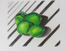 Three Limes by Barbara McKenzie