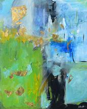 Golden Whirlpool by Kelly Nicole Aiken