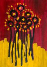 Abstract Flowers by FRANI