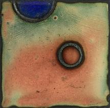 Enameled Circles IV by Noel Vogt