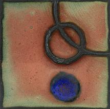 Enameled Circles VI by Noel Vogt