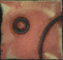 Enameled Circles III by Noel Vogt