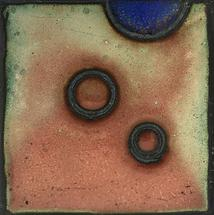 Enameled Circles I by Noel Vogt