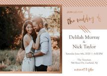 Angled Wedding by Nicole Chinnici