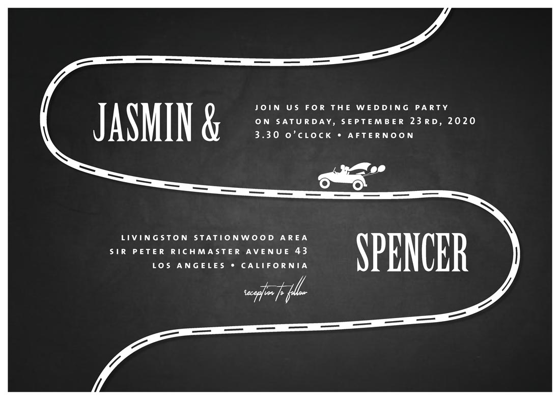 wedding invitations - OUR WAY by FRANI