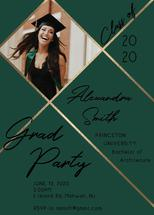 Diagonal Grad Party by Nicole Chinnici