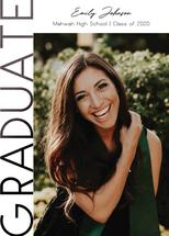 Sideways Graduate by Nicole Chinnici